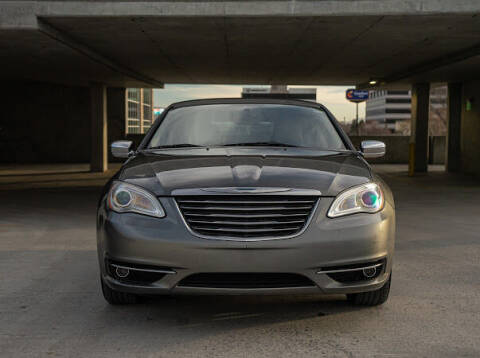 2012 Chrysler 200 for sale at The Car-Mart in Murray UT