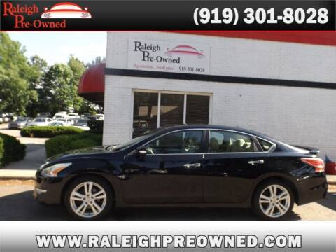 2013 Nissan Altima for sale at Raleigh Pre-Owned in Raleigh NC