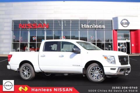 2021 Nissan Titan for sale at Hanlees Davis Nissan Chevrolet in Davis CA