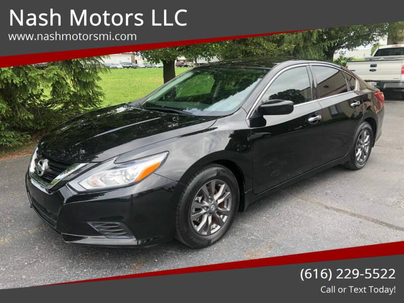 2018 Nissan Altima for sale at Nash Motors LLC in Hudsonville MI