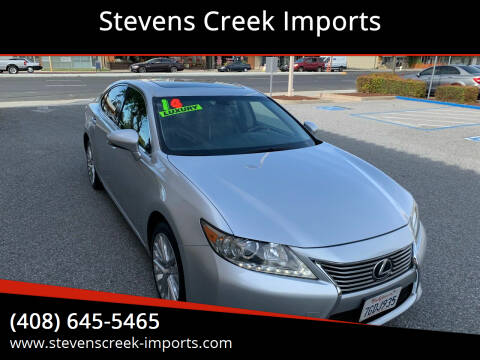 2014 Lexus ES 350 for sale at Stevens Creek Imports in San Jose CA
