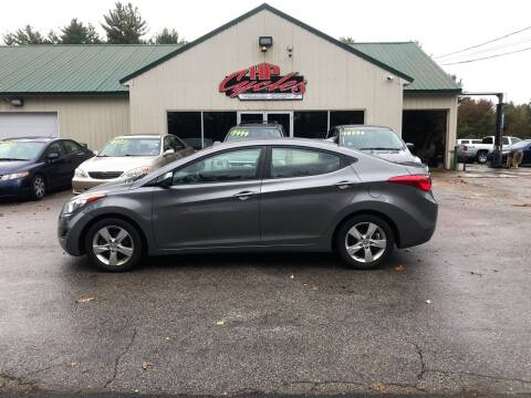 2013 Hyundai Elantra for sale at HP AUTO SALES in Berwick ME