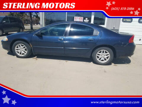 2003 Dodge Intrepid for sale at STERLING MOTORS in Watertown SD