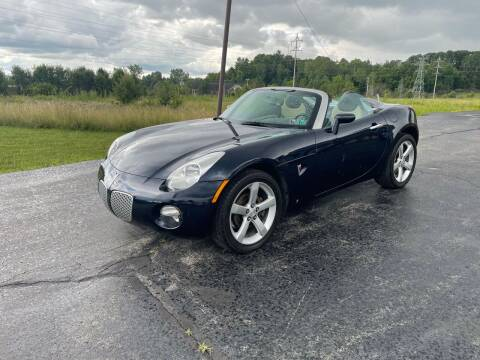 2008 Pontiac Solstice for sale at Country Auto Sales in Boardman OH