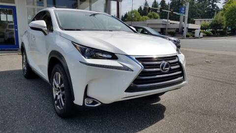 2016 Lexus NX 200t for sale at Seattle's Auto Deals in Everett WA