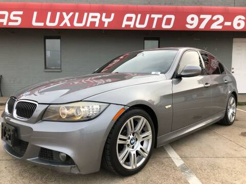 2009 BMW 3 Series for sale at Texas Luxury Auto in Cedar Hill TX