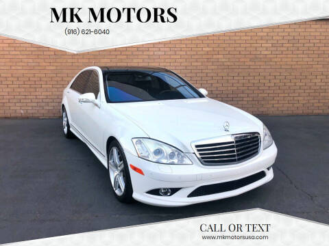 2008 Mercedes-Benz S-Class for sale at MK Motors in Sacramento CA