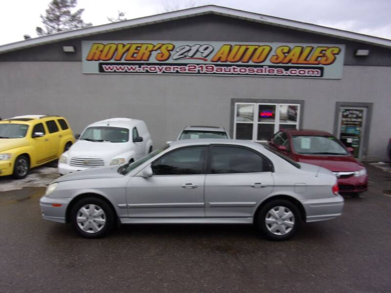 2004 Hyundai Sonata for sale in Dubois, PA