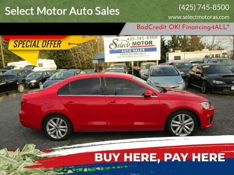 2012 Volkswagen Jetta for sale at Select Motor Auto Sales in Lynnwood WA