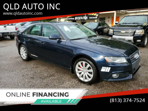 2010 Audi A4 for sale at QLD AUTO INC in Tampa FL