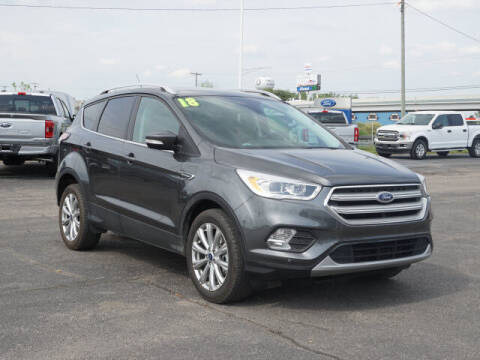2018 Ford Escape for sale at FOWLERVILLE FORD in Fowlerville MI