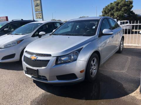 2014 Chevrolet Cruze for sale at Top Gun Auto Sales, LLC in Albuquerque NM