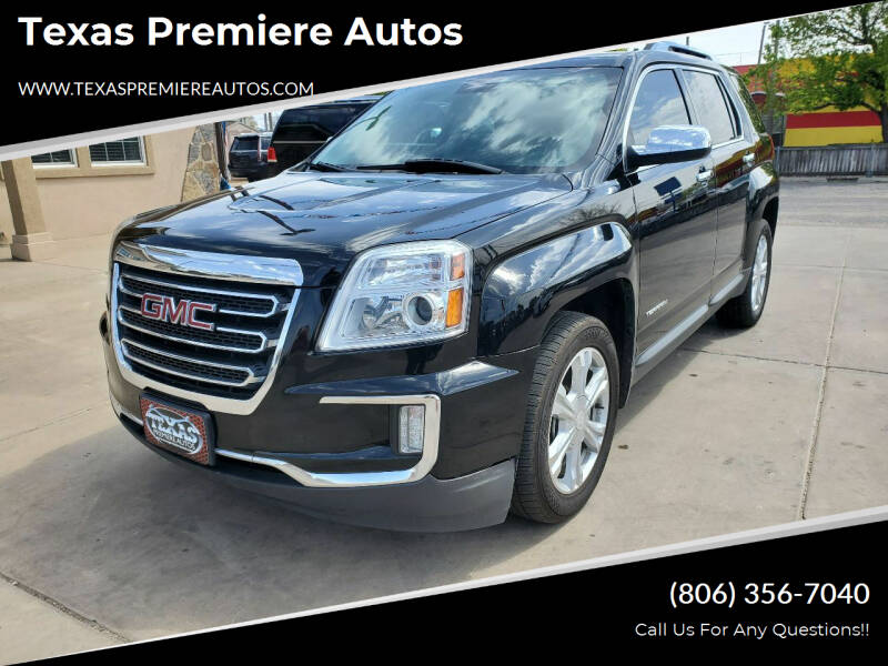 2016 GMC Terrain for sale at Texas Premiere Autos in Amarillo TX