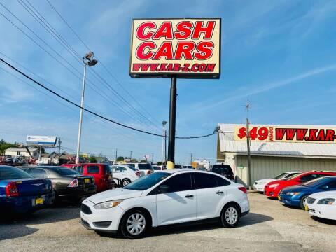2016 Ford Focus for sale at www.CashKarz.com in Dallas TX