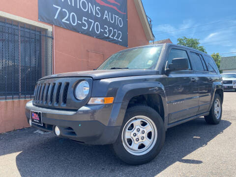 2015 Jeep Patriot for sale at Nations Auto Inc. II in Denver CO