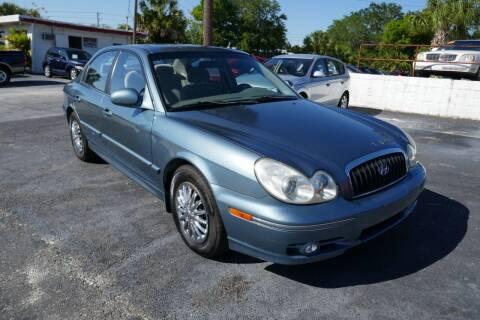 2004 Hyundai Sonata for sale at J Linn Motors in Clearwater FL