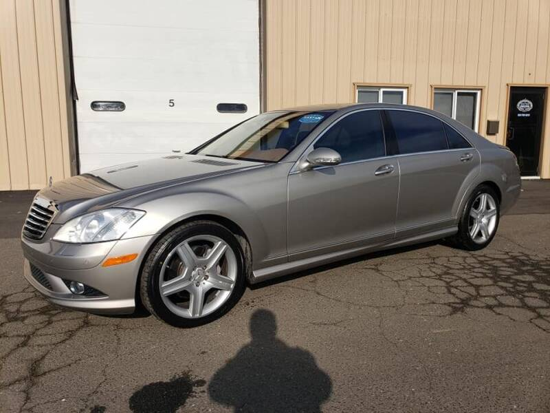 2008 Mercedes-Benz S-Class for sale at Massirio Enterprises in Middletown CT