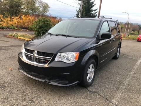 2012 Dodge Grand Caravan for sale at KARMA AUTO SALES in Federal Way WA