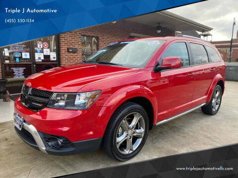 2017 Dodge Journey for sale at Triple J Automotive in Erwin TN