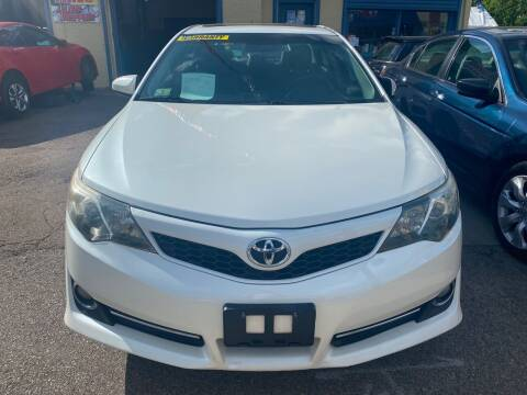 2012 Toyota Camry for sale at Polonia Auto Sales and Service in Hyde Park MA