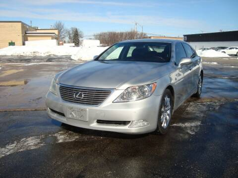 2007 Lexus LS 460 for sale at ARIANA MOTORS INC in Addison IL