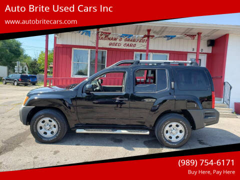 2011 Nissan Xterra for sale at Auto Brite Used Cars Inc in Saginaw MI