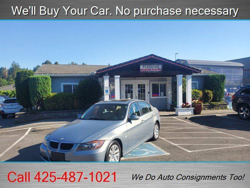 2006 BMW 3 Series for sale at Platinum Autos in Woodinville WA
