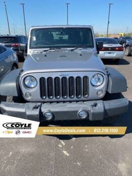 2017 Jeep Wrangler Unlimited for sale at COYLE GM - COYLE NISSAN - New Inventory in Clarksville IN