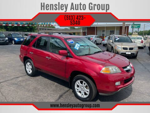 2004 Acura MDX for sale at Hensley Auto Group in Middletown OH
