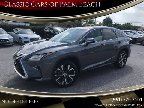 2017 Lexus RX 350 for sale at Classic Cars of Palm Beach in Jupiter FL