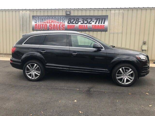 2011 Audi Q7 for sale at Stikeleather Auto Sales in Taylorsville NC