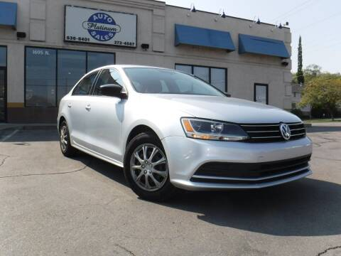 2015 Volkswagen Jetta for sale at Platinum Auto Sales in Provo UT