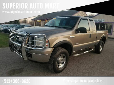 2005 Ford F-250 Super Duty for sale at SUPERIOR AUTO MART in Amelia OH