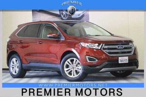 2016 Ford Edge for sale at Premier Motors in Hayward CA