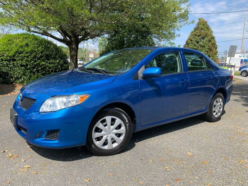 2010 Toyota Corolla for sale at Seaport Auto Sales in Wilmington NC