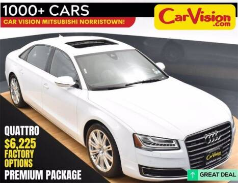 2015 Audi A8 L for sale at Car Vision Buying Center in Norristown PA