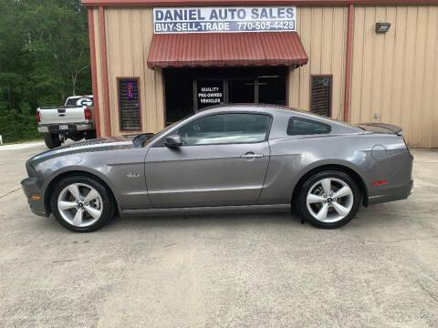 2014 Ford Mustang for sale at Daniel Used Auto Sales in Dallas GA