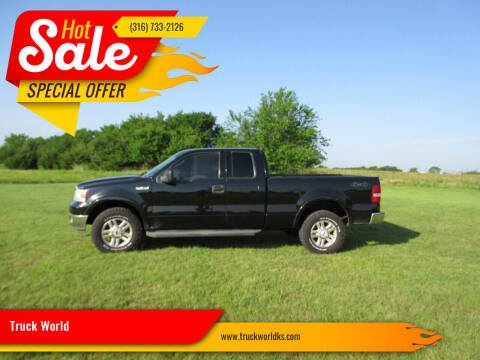 2004 Ford F-150 for sale at Truck World in Augusta KS
