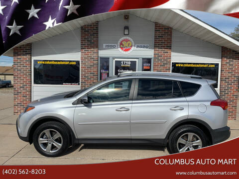 2015 Toyota RAV4 for sale at Columbus Auto Mart in Columbus NE