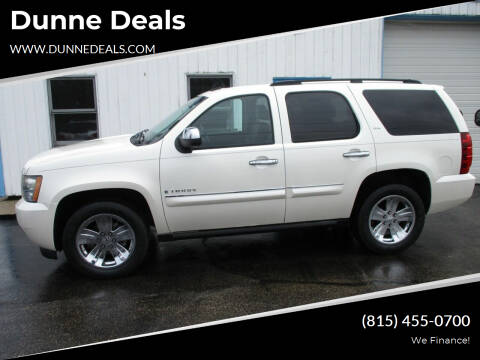 2008 Chevrolet Tahoe for sale at Dunne Deals in Crystal Lake IL