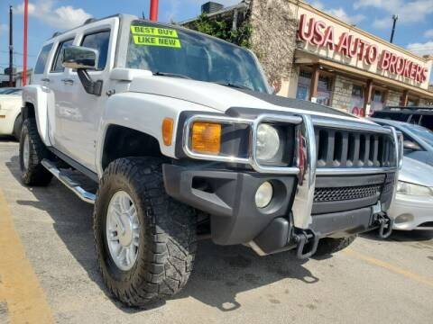 2008 HUMMER H3 for sale at USA Auto Brokers in Houston TX