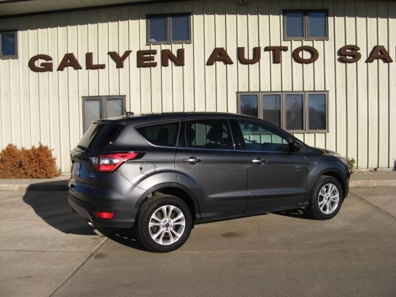 2017 Ford Escape for sale at Galyen Auto Sales Inc. in Atkinson NE