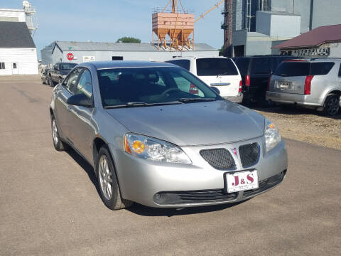 2006 Pontiac G6 for sale at J & S Auto Sales in Thompson ND