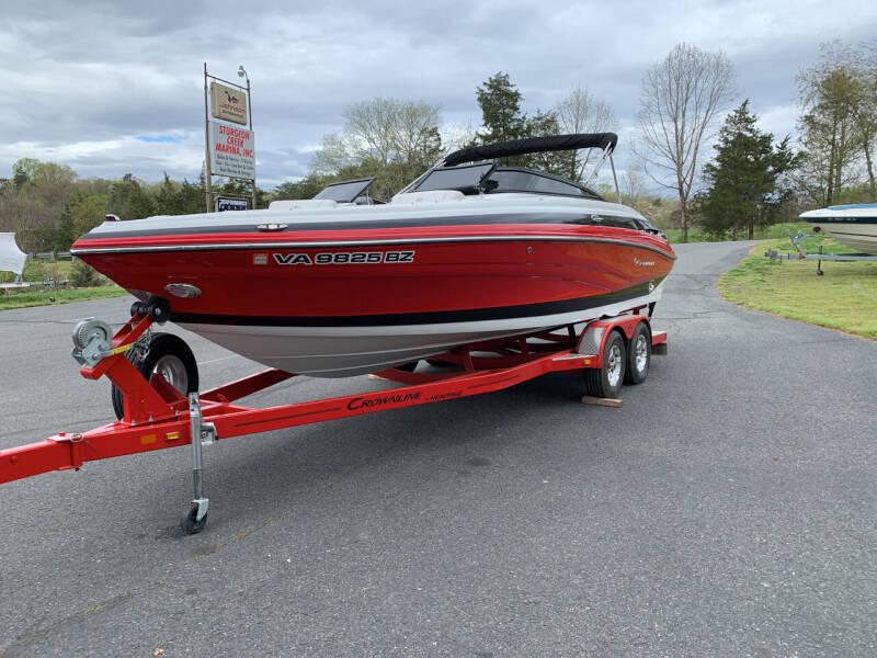 2016 Crownline 235 SS for sale at Performance Boats in Spotsylvania VA