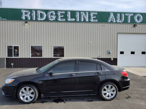 2013 Chrysler 200 for sale at RIDGELINE AUTO in Chubbuck ID