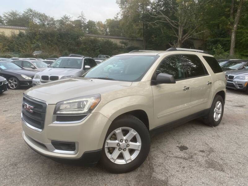 2013 GMC Acadia for sale at Car Online in Roswell GA