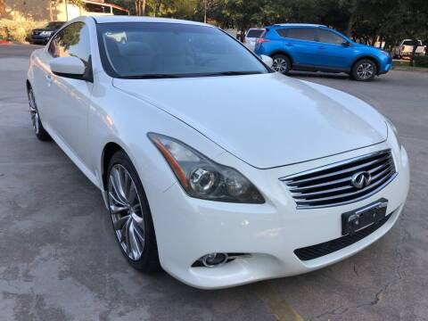 2012 Infiniti G37 Coupe for sale at PRESTIGE AUTOPLEX LLC in Austin TX