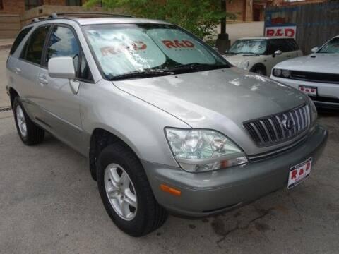 2002 Lexus RX 300 for sale at R & D Motors in Austin TX