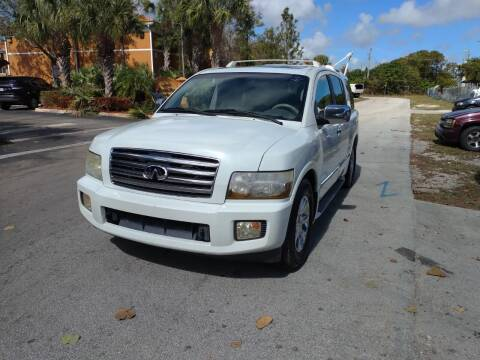 2006 Infiniti QX56 for sale at LAND & SEA BROKERS INC in Deerfield FL