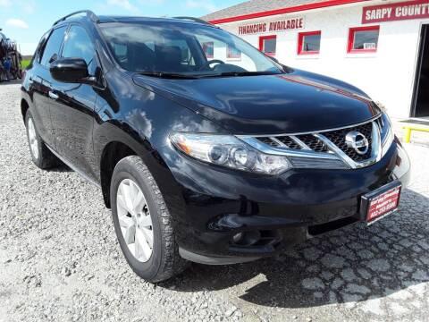 2011 Nissan Murano for sale at Sarpy County Motors in Springfield NE